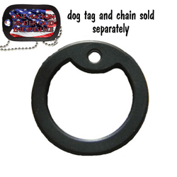 Dog Tag rubber silencer
