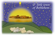 Cards - O Little Town of Bethlehem