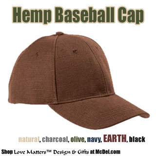Hat - Hemp Baseball Cap