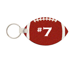 Key Chain - Football FRP tag