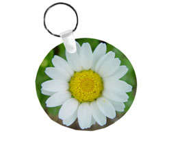 Key Chain - Round Aluminum tag