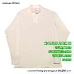 Polo/Golf Shirt - long-sleeved - 2-btn