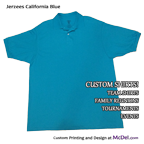Polo/Golf Shirt - short-sleeved - 2-btn