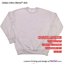 Custom-printed Sweatshirt - Crewneck
