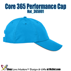 Custom-Printed Core 365 Performance Cap