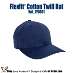 Custom-Printed Flexfit™ Cotton Twill Hat