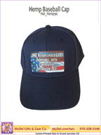 LM Flag-One Nation - Hemp Baseball Cap