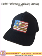 LM Flag-In God We Trust  Flexfit® Performance Cool & Dry Sport Cap
