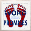 Word - Standing on the Promises - aluminum sign