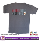 Love Matters™ Nurses Need Shots Too T-Shirt