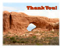Note Cards - Circle Arch - Thank You