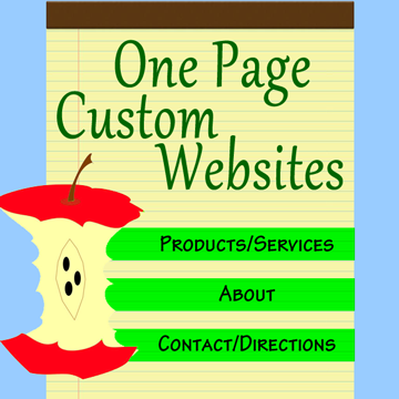 Custom One Page Websites