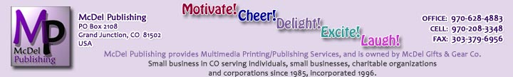 McDel Publishing - Small Business Printer, Grand Junction CO