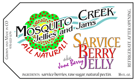 Mosquito Creek Jams and Jellies