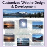customized website design & development